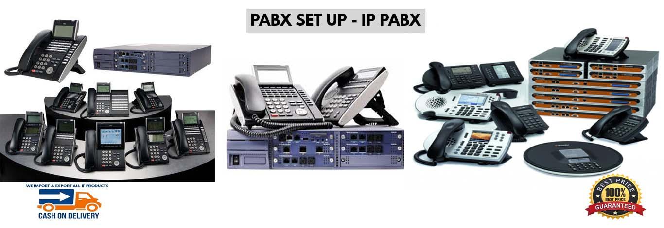 PABX SETUP - IP PABX